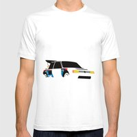 205 T16 Mens Fitted Tee White SMALL