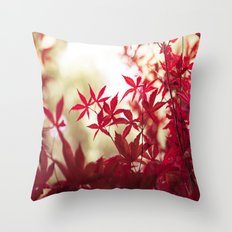 One September Afternoon Throw Pillow