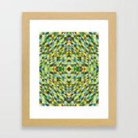 Leaves, Trees And Blu Sk… Framed Art Print