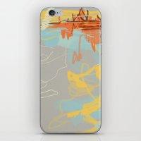 Runoff Patterns iPhone & iPod Skin