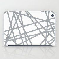 To The Edge Grey iPad Case