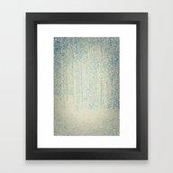 Framed Art Print featuring Sense Of Snow by V. Sanderson / Chick…