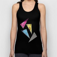 David Bowie InQuadri Unisex Tank Top