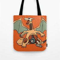 Charizard Anatomy Tote Bag