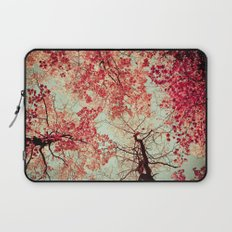 Autumn Inkblot Laptop Sleeve