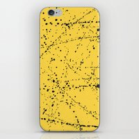 Dazed + Confused [Yellow] iPhone & iPod Skin