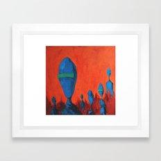 The citizens Framed Art Print