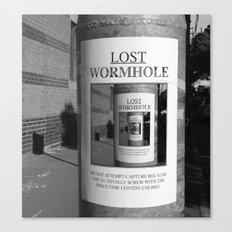 Lost Wormhole Canvas Print