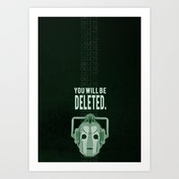 Doctor Who: Cybermen Pri… Art Print