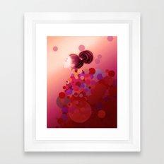 Pink○●◎ Framed Art Print