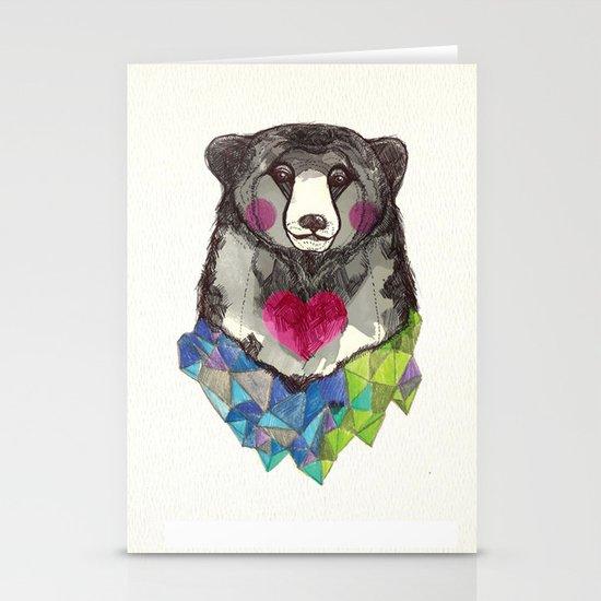 Bear yeah Stationery Card