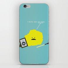 I Sulfur When You Argon iPhone & iPod Skin