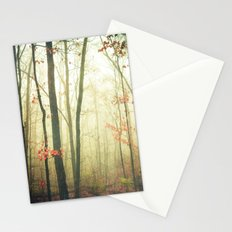 The Woods are Lovely Dark and Deep Stationery Cards