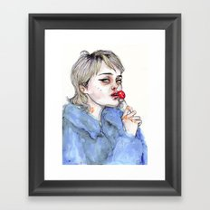 Sky Lollipop  Framed Art Print