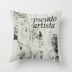 PSEUDOARTISTA Throw Pillow