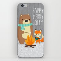 Happy Merry Jolly iPhone & iPod Skin