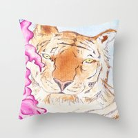 Tiger #1 Throw Pillow