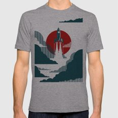 The Voyage Mens Fitted Tee Athletic Grey SMALL