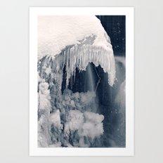 Susquehanna Ice Reaper Art Print