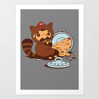 The Tanooki truth Art Print