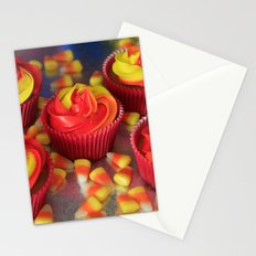 Candy Corn Cupcakes Stationery Cards