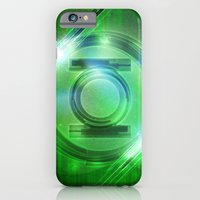 iPhone & iPod Case featuring Green Lantern by Tobia Crivellari