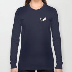 Pocket French Bulldog - Pied Long Sleeve T-shirt