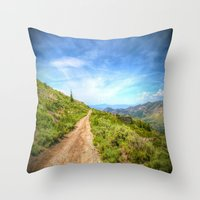 Remnant (color edition) Throw Pillow