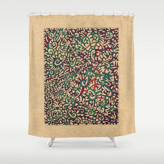 - legend - Shower Curtain