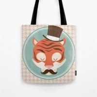 Uncommon Creatures - Tiger Tote Bag