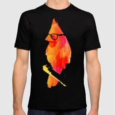 Punk bird Mens Fitted Tee Black SMALL