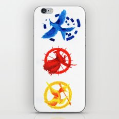 The H Games - Mockingjay iPhone & iPod Skin