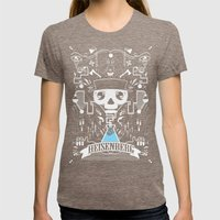 It's All In The Chemistr… Womens Fitted Tee Tri-Coffee SMALL