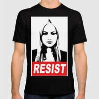 Resist Mens Fitted Tee Black SMALL