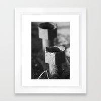 Nuts Framed Art Print
