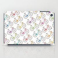 Rainbow Bicycles iPad Case