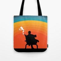 The illusive man Tote Bag