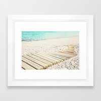 al fresco Framed Art Print