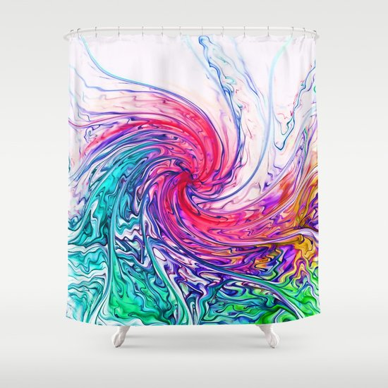 True Colours Shower Curtain