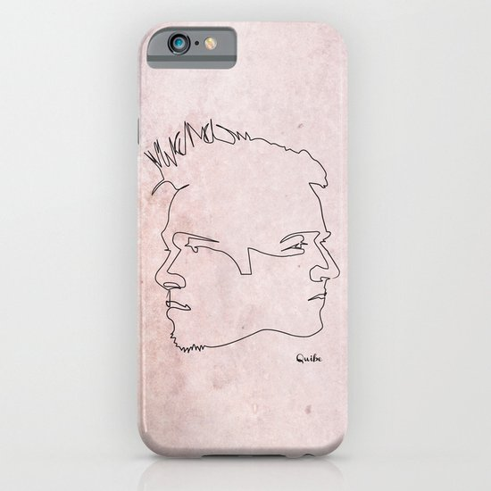 One line Fight Club iPhone & iPod Case