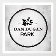 Dan Dugan Park Art Print