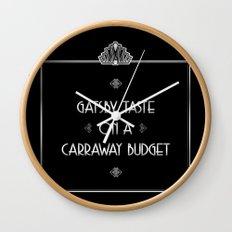 Gatsby Style Wall Clock