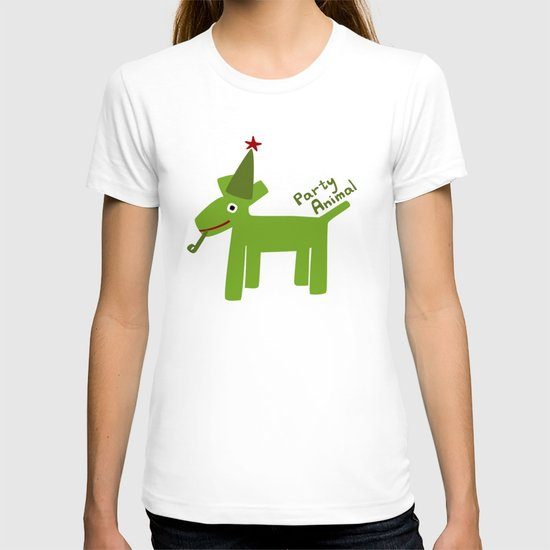 Party Animal-Green T-shirt