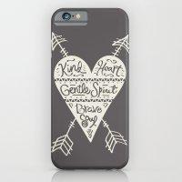 Kind Gentle Brave 2 iPhone 6 Slim Case