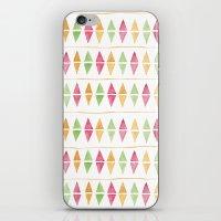Watercolor Argyle iPhone & iPod Skin