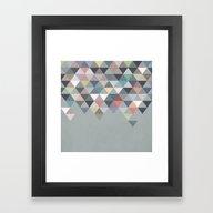 Nordic Combination 20 Framed Art Print