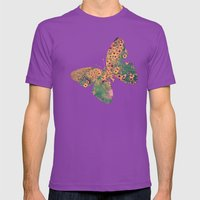 Mellow Meadow Mens Fitted Tee Ultraviolet SMALL