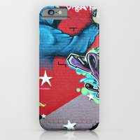 graffiti iPhone & iPod Cases featuring graffiti by mark ashkenazi