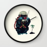 Clams Wall Clock
