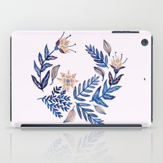 Blue Wreath iPad Case